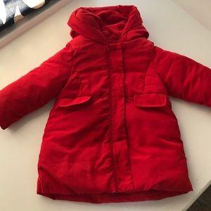Jacadi Toddler Girls Winter Coat